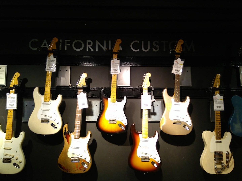 Guitarras california custom