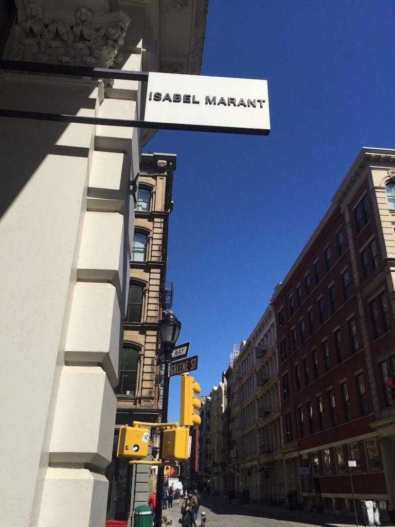Tienda de la diseñadora Isabel Marant en el Soho