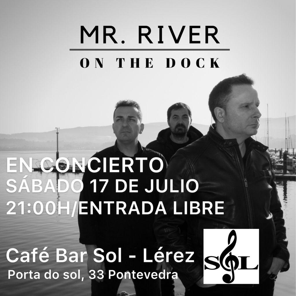 cartel concierto café bar sol