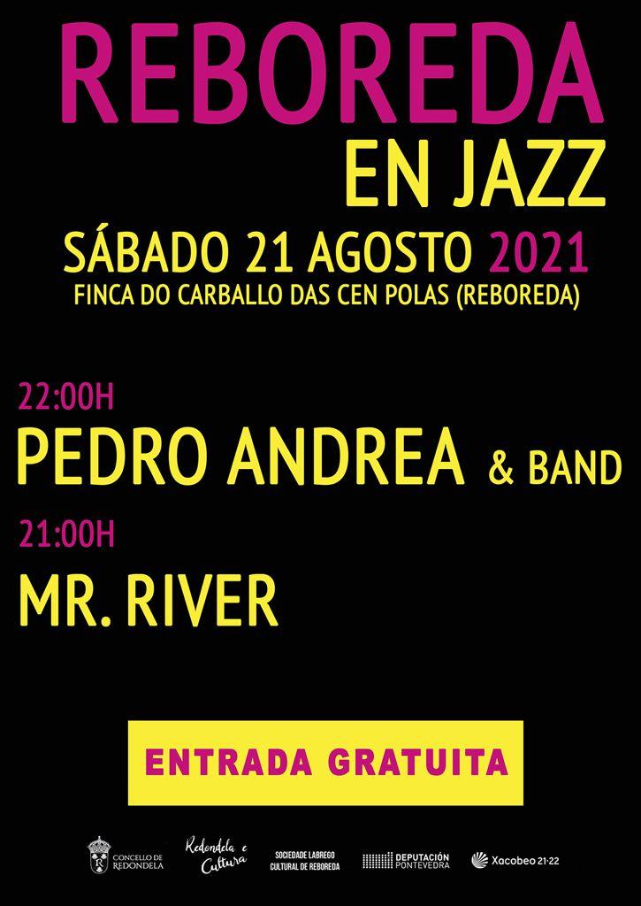 cartel concierto Reboreda en Jazz